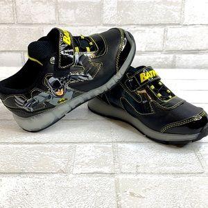Boy's Light up Batman Velcro Strap Sneakers